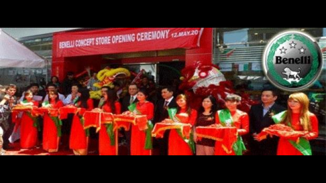 Benelli: inaugurato in Vietnam il primo showroom