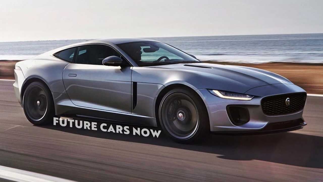 Jaguar XK Rendering by Future Cars Now