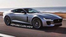 new jaguar xk rendering