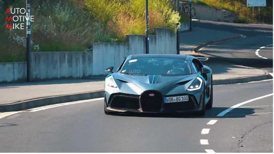 VIDÉO - Les Bugatti prennent d'assaut la Nordschleife