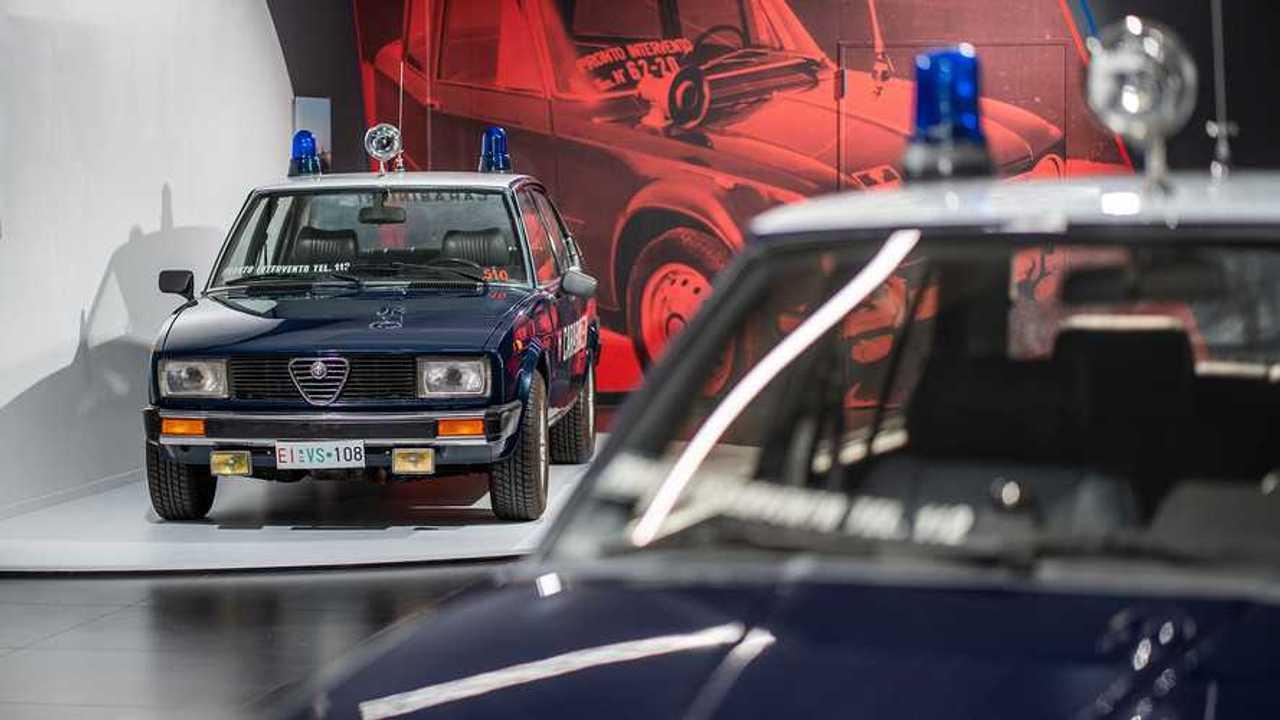 Alfa Romeo in Uniform