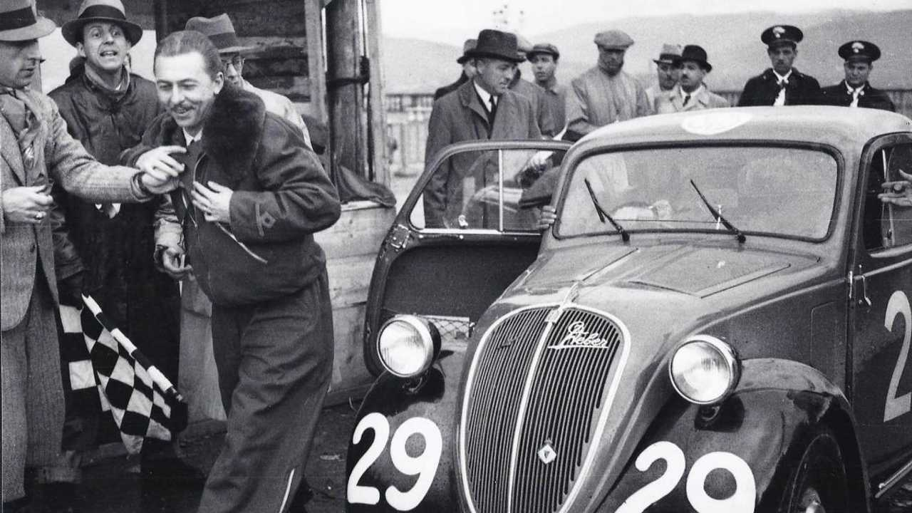 The Mille Miglia 1936 Fiat Topolino raced by a war reporter