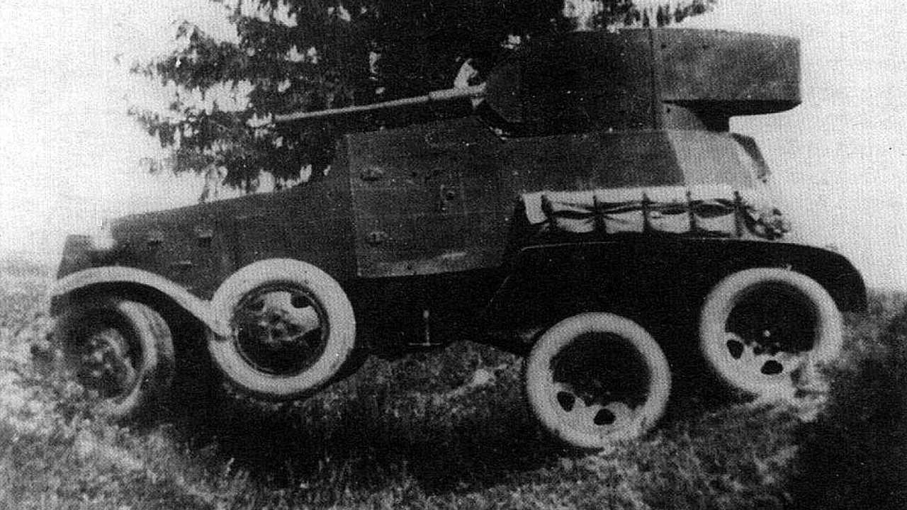 1934 год – БА-3
