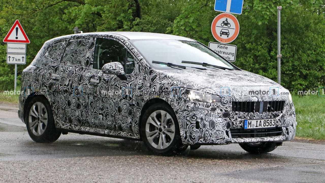BMW 2 Serisi Active Tourer Casus Fotoğraflar