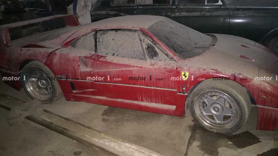 The Incredible Backstory Of How Uday Hussein's Ferrari F40 Was Found
