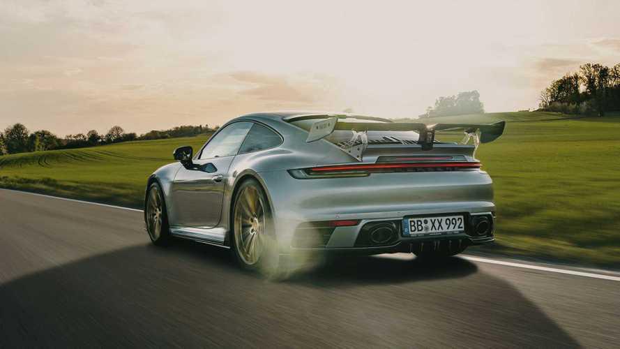 Du nouveau pour la Porsche 911 revue par TechArt