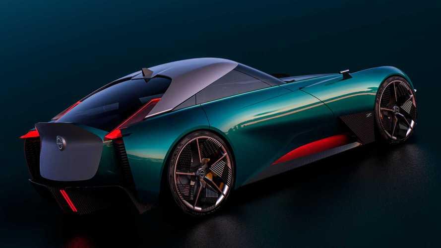 2022 Nissan 400Z rendering   Motor1.com Photos
