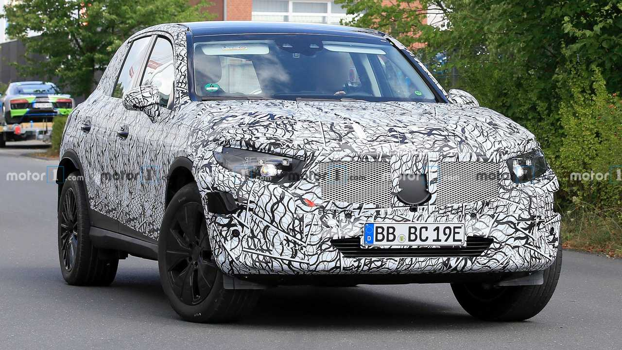 2021 Mercedes-Benz GLC-Serisi Casus Fotoğraflar