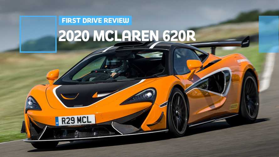 2020 McLaren 620R First Drive Review: GT4, But More