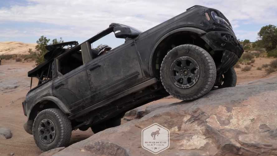 2021 Ford Bronco Owns The Hell Out Of Hell's Revenge Rock Crawling Trail