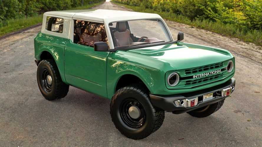 International Scout Meets 2021 Ford Bronco In This Fan Rendering