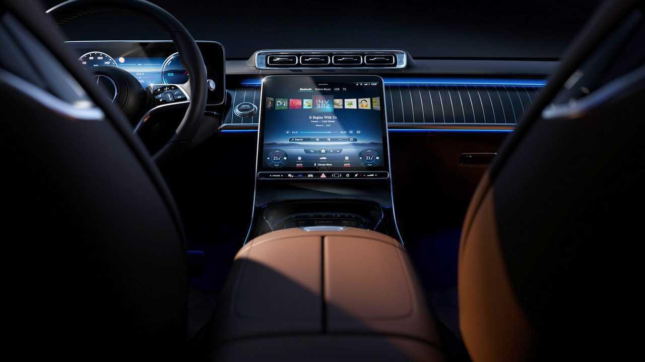 Mercedes-Benz S-класса (2020) - комфорт и атмосфера