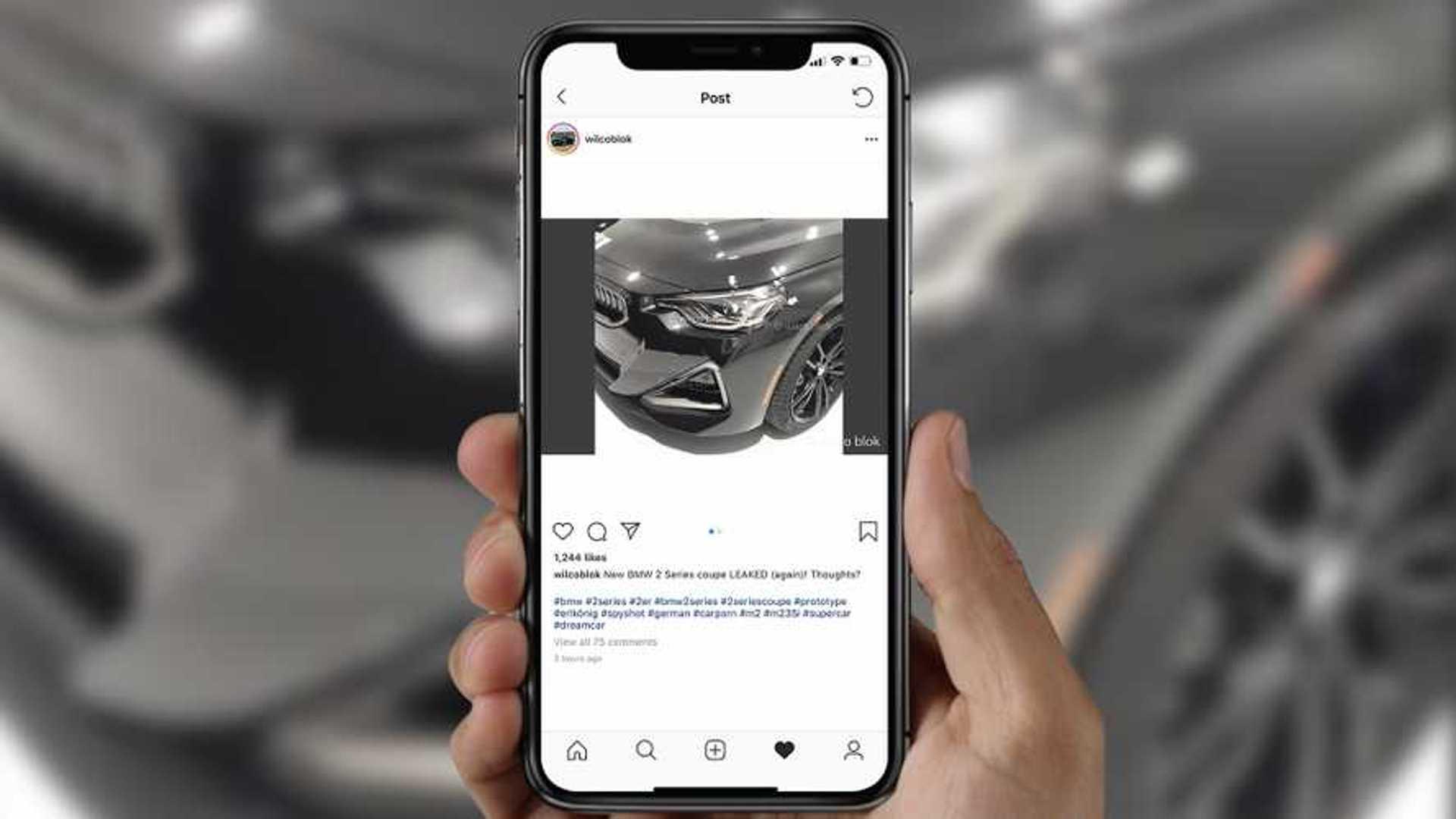 Bu fotoğraflar yeni BMW 2 Serisi'ne mi ait?