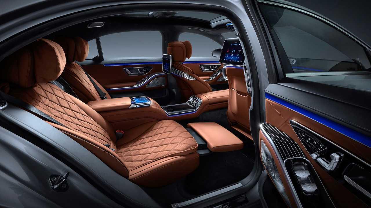 2021 Mercedes Benz S Class Interior 5163026
