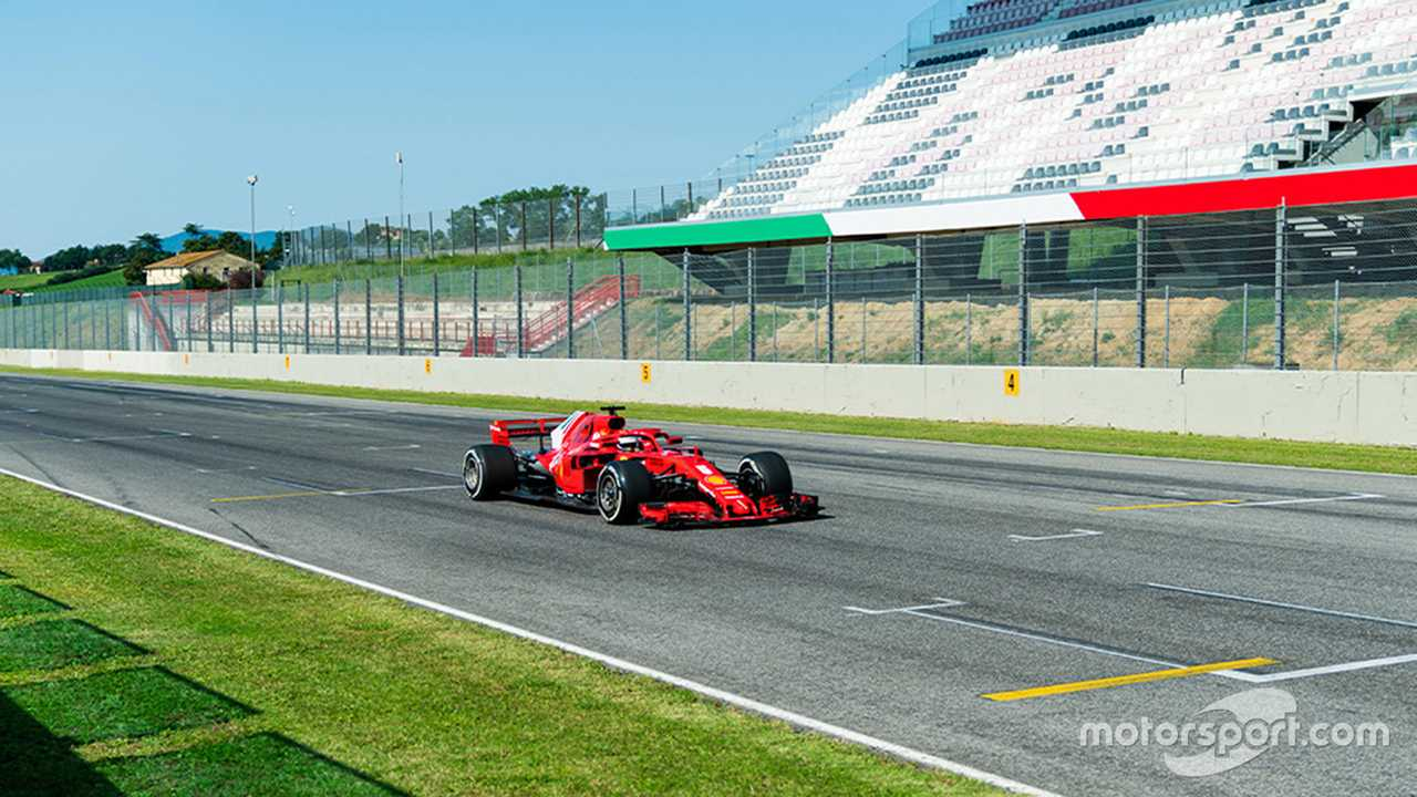 Sebastian Vettel at Mugello June testing 2020