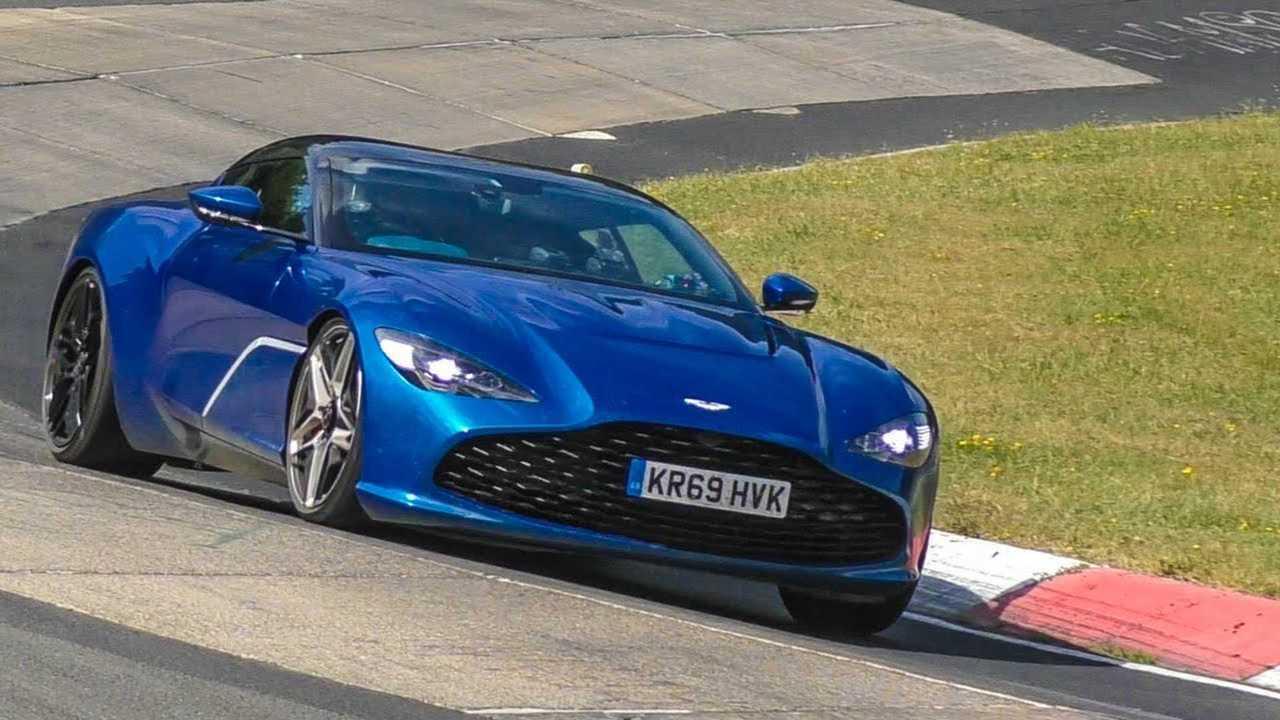 Aston DBS Zagato Spied at Nurburgring
