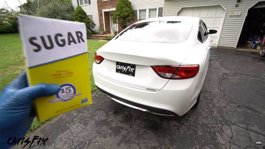 Chrysler 200 With Sugar In The Gas Tank Gets Its Fuel System Cleaned