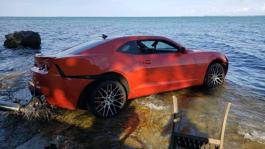 NFL Player Drives His Camaro Into Lake Erie, Charged With OVI