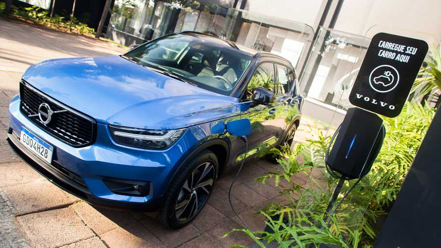 Volvo lança carregador para elétricos e híbridos plug-in por R$ 6.499