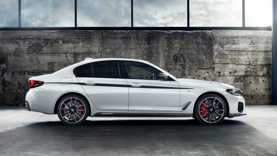 Facelifted BMW 5 Series, M5 Get Wide Range Of M Performance Parts