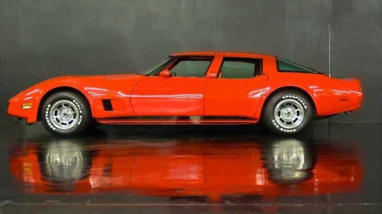 Unique four-door 1980 Corvette, artwork or abomination?