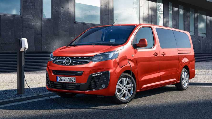 Opel Elettrifica l'ammiraglia arriva la Zafira-e Life