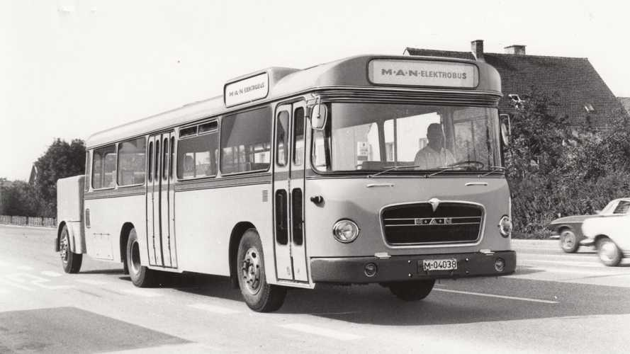 MAN Presented Its First Electric Bus Some 50 Years Ago (w/video)