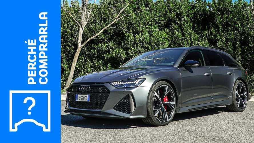 Audi RS 6 Avant, perché comprarla e perché no