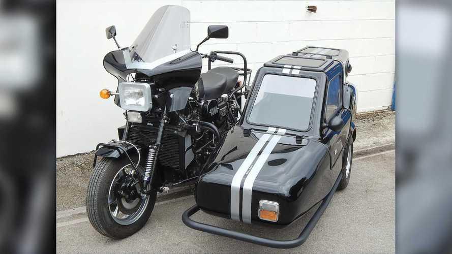 Cycleweird: Austin Mini-Powered Austel Motorcycles