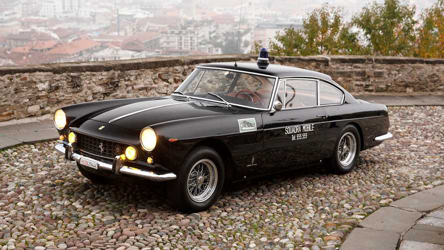 La dernière Ferrari 250 GTE de la police est à vendre