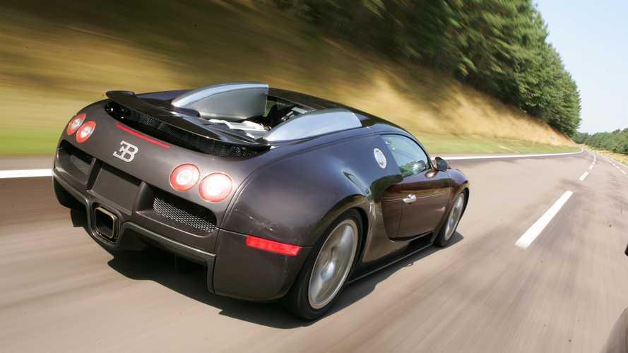 Bugatti Veyron: récord de 400 km/h