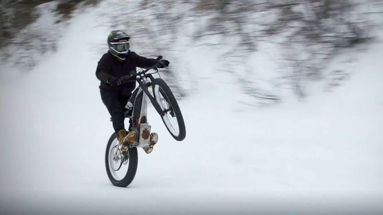 La E-MTB senza pedali