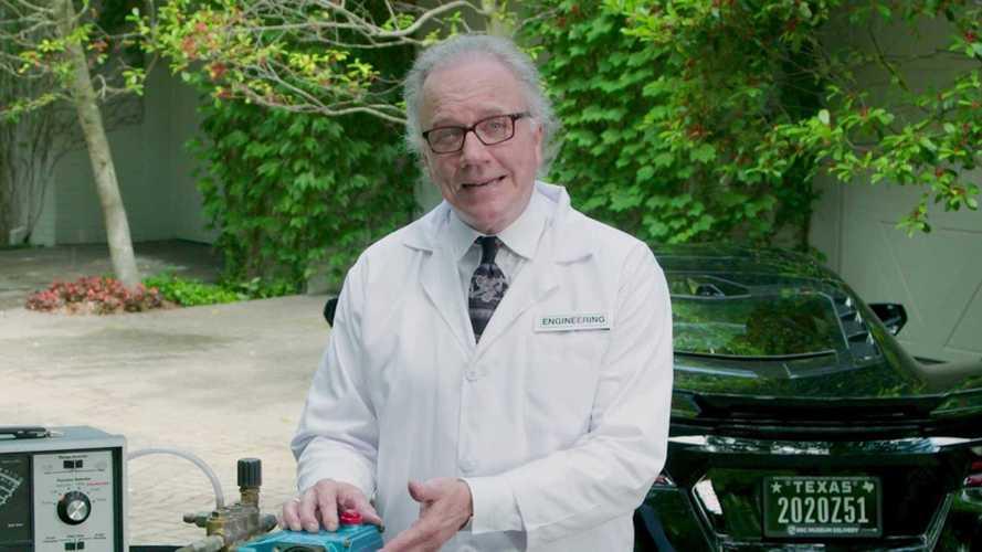 Corvette C8's 'Turbo Encabulator' Explained In Confusing Video