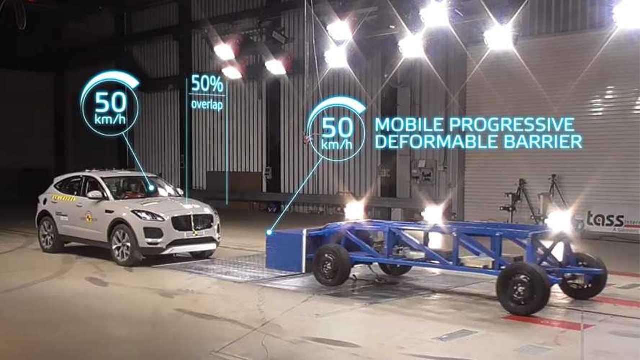 Euro NCAP mobile progressive deformable barrier
