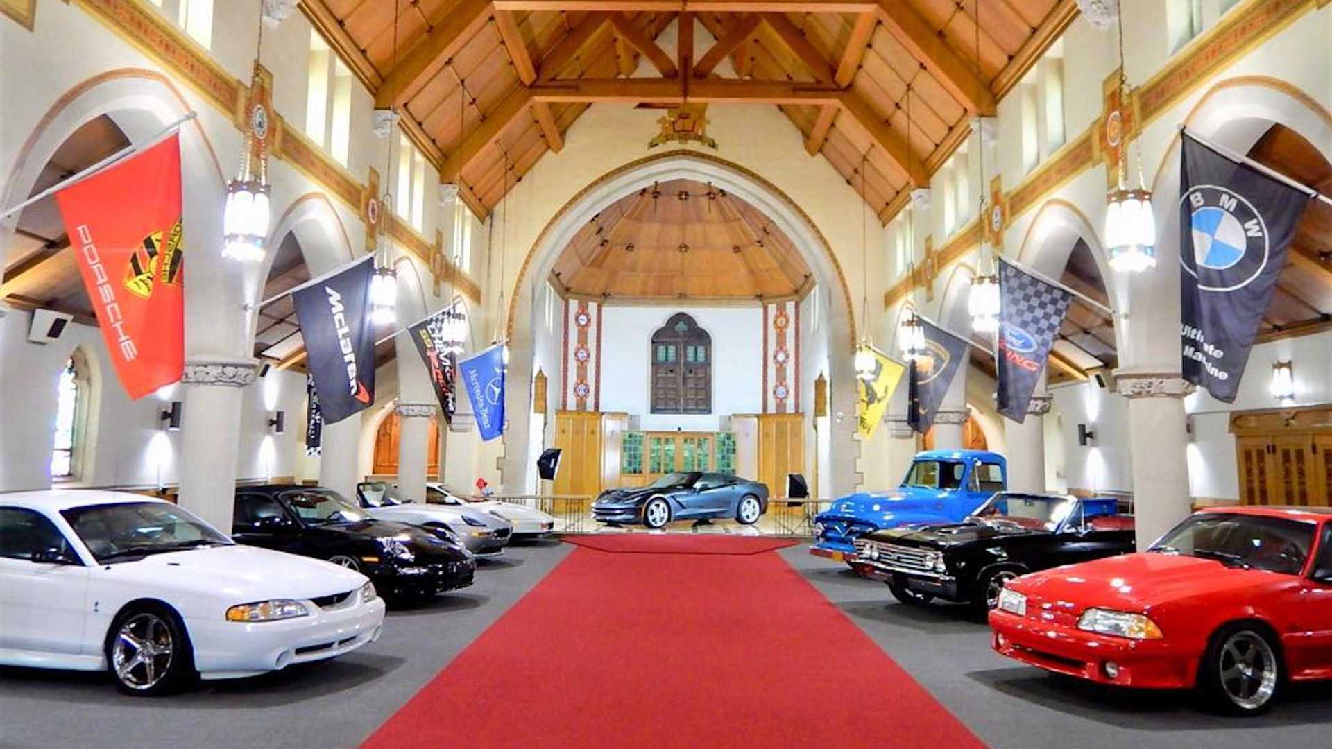 The Holy Grail Garage Is A Church-Turned-Car-Storage Temple