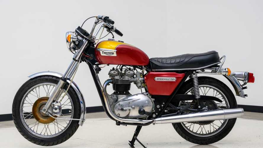 This 1978 Triumph T140 Bonneville Can Be Yours