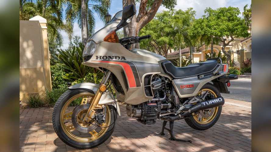 This 1982 Honda CX500 Turbo Is The Poor Man's Moto Guzzi