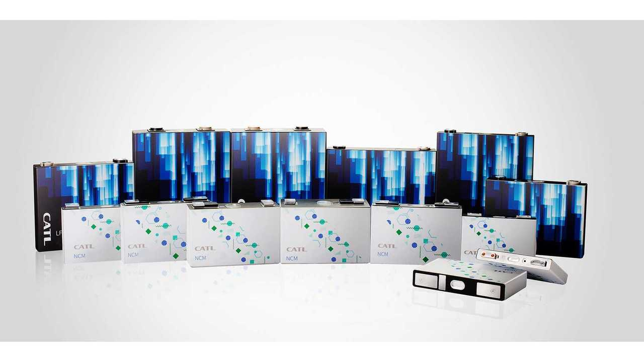 CATL - células de baterias