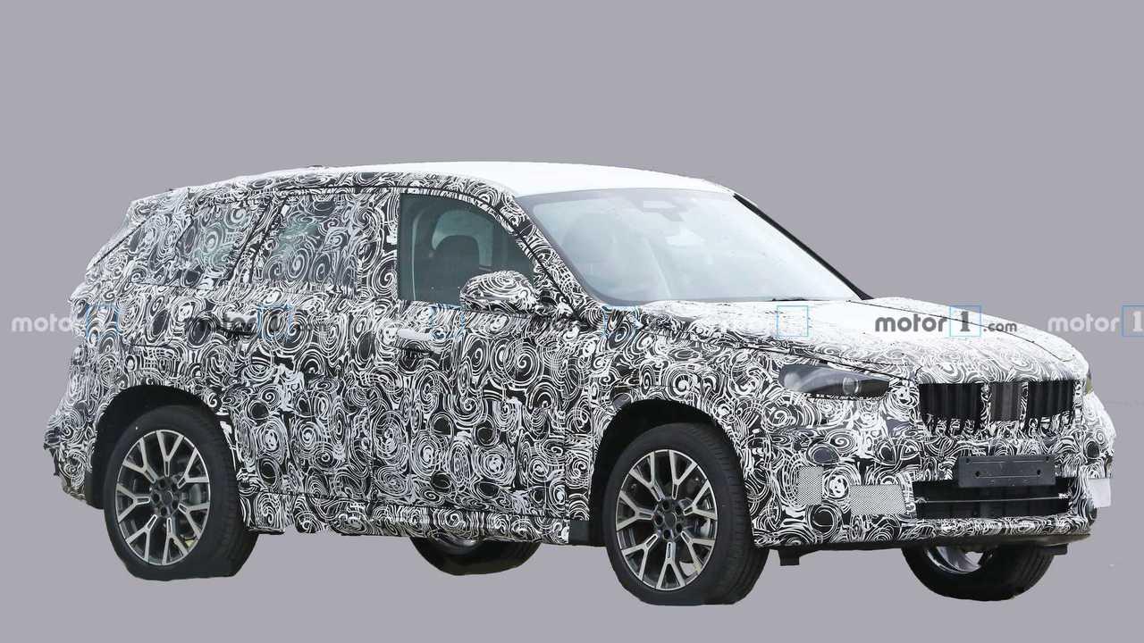 BMW X1 Spy Fotoğrafları