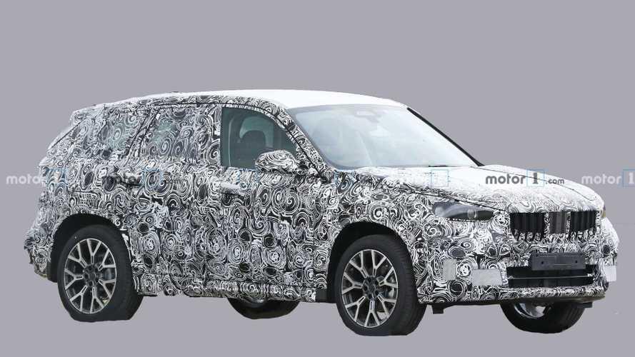 Le nouveau BMW X1 apparaît pour la première fois
