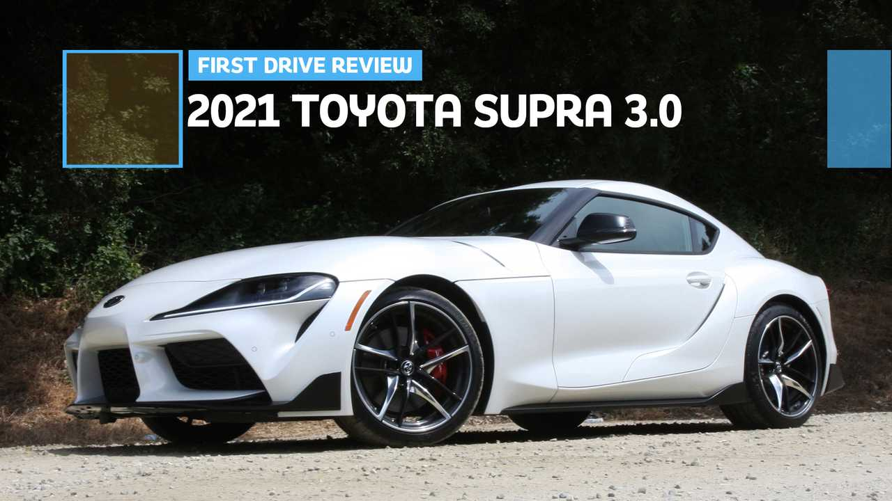 2021 Toyota Supra 3.0 First Drive