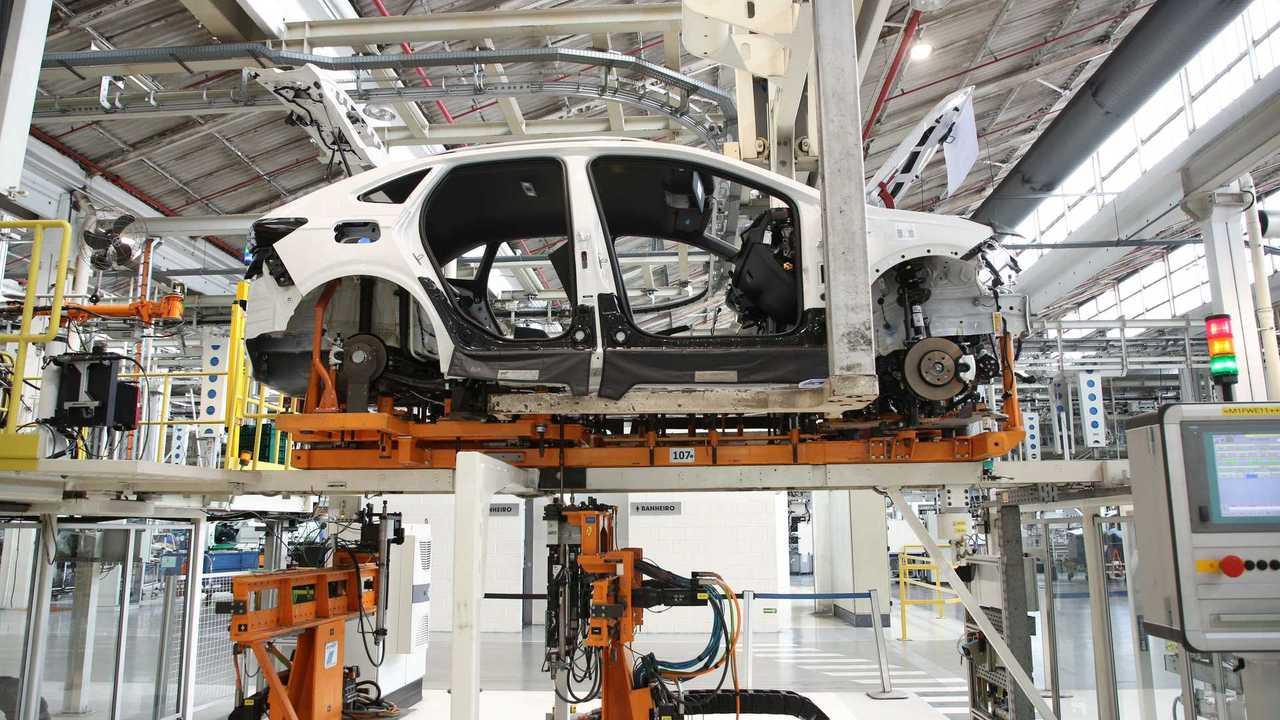 VW Nivus produção (fábrica Anchieta)