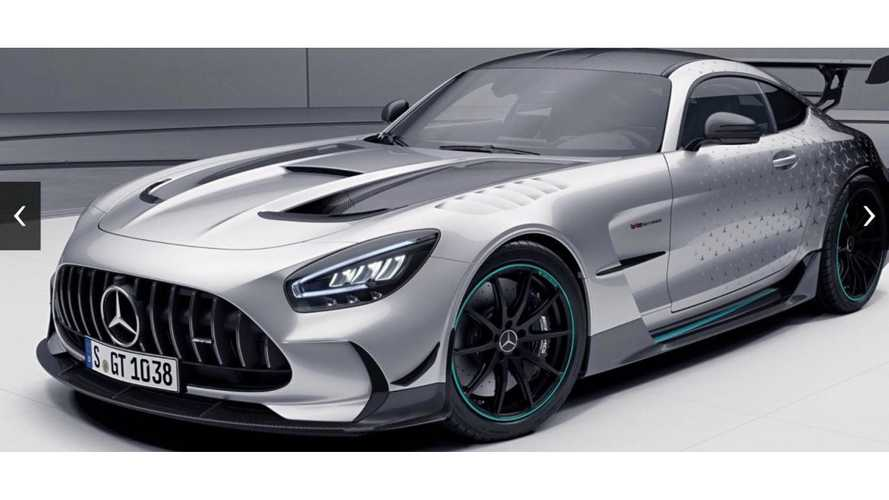 Mercedes-AMG GT Black Series Project One Edition'a yakından bakın