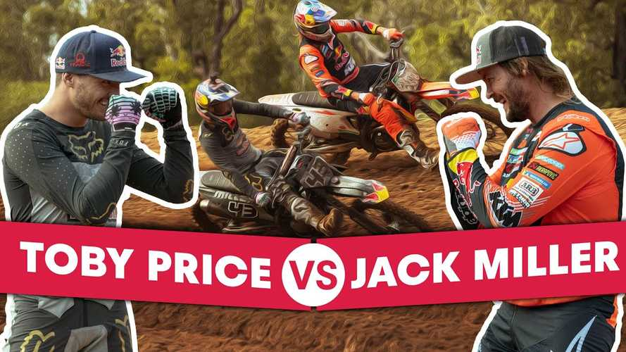 Motocross Showdown: MotoGP Racer Jack Miller Vs. Dakar Winner Toby Price