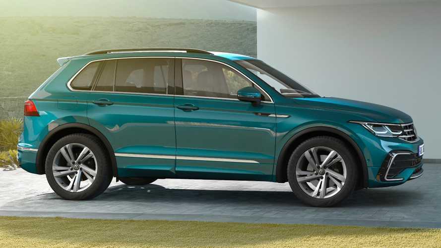 I prezzi della Volkswagen Tiguan restyling