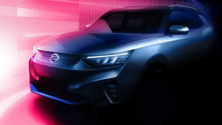 Ssangyong E100 (2021): Erste Teaser-Bilder des Elektro-SUV