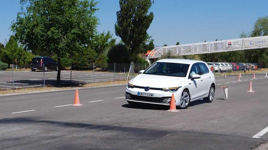 Gyenge eredménnyel zárta a jávorszarvas-tesztet az új VW Golf