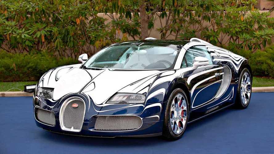 Bugatti Veyron, tutti gli esemplari unici