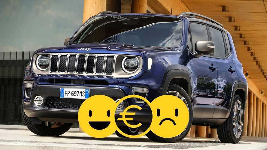 Promozione nuova Jeep Renegade 1.0 120 CV, perché conviene e perché no