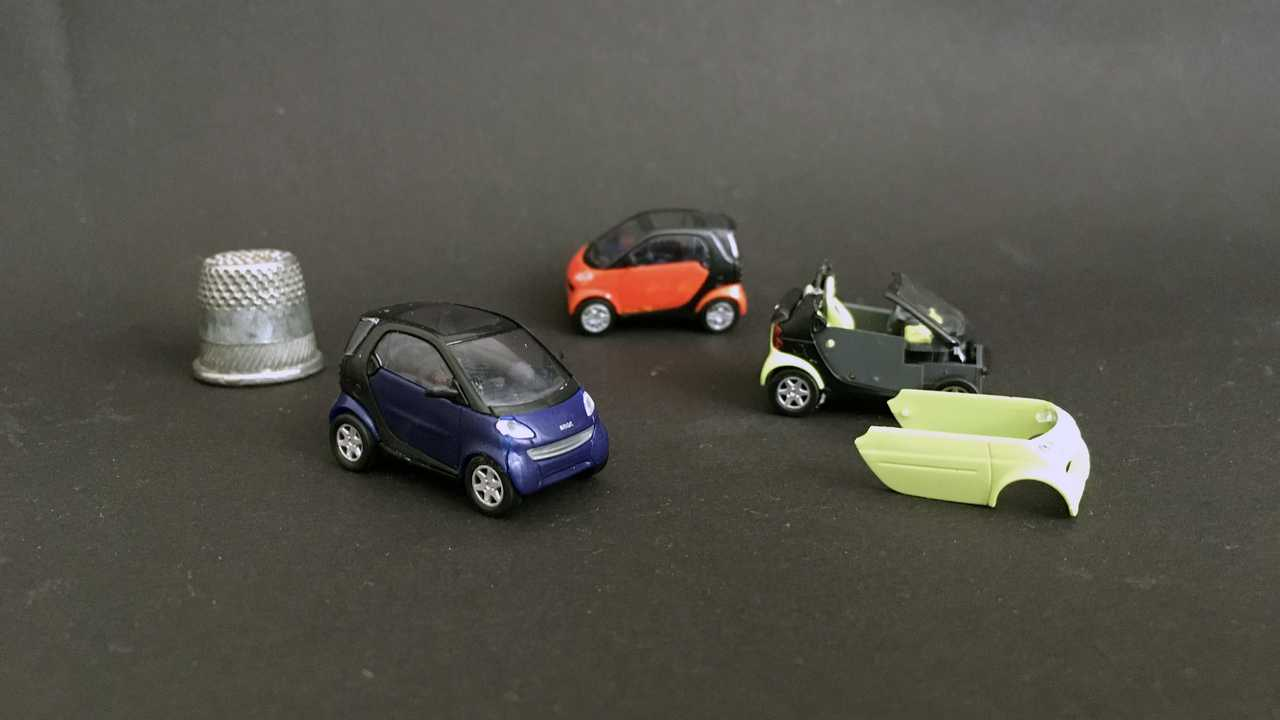 Smart City Coupe/Cabrio (450) 1:87